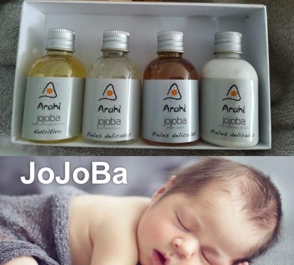 Cuida a tu bebé con jojoba