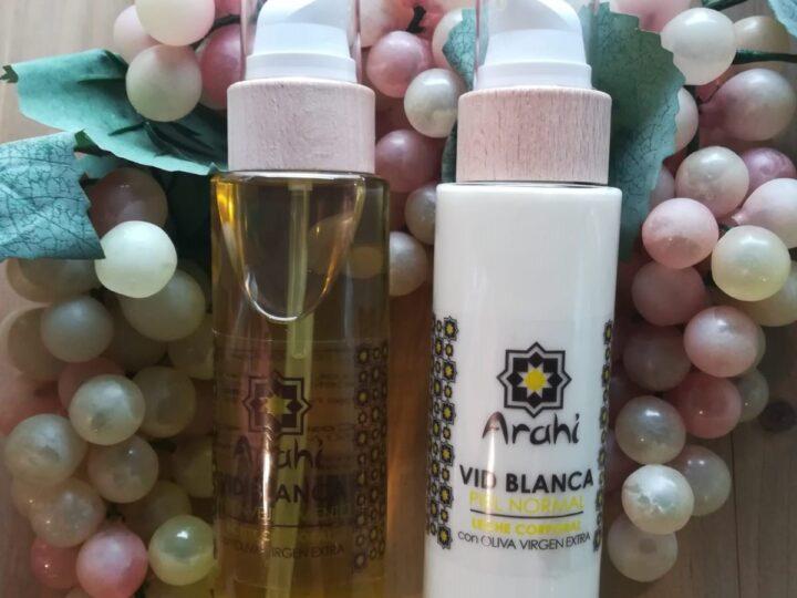 Stop envejecimiento con cosmética natural de uva.